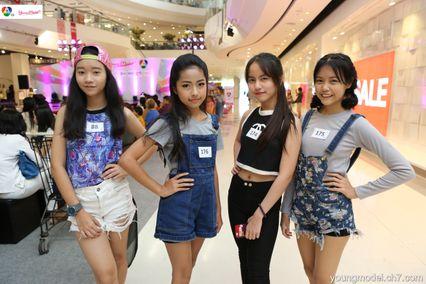 เผยโฉมผู้เข้ารอบ 12 คนแรก สาวน้อย Young Model 2016