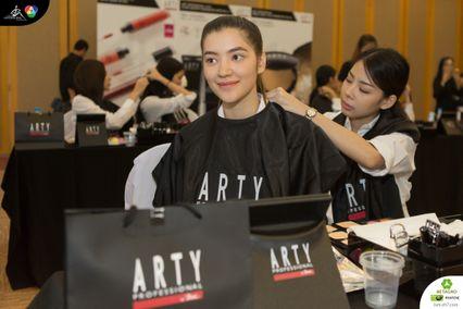 ภาพบรรยากาศกิจกรรม Workshop แต่งหน้ากับ ARTY Professtional by bsc