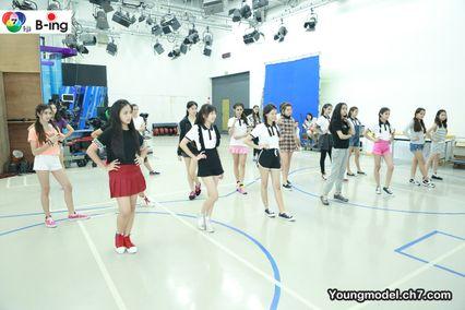 สาวน้อยวัยใส ทั้ง 24 คน เข้าร่วม Workshop